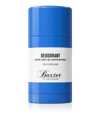 Baxter of California Aluminium and Alcohol Free Deodorant, 75g - Beautyshop.ie