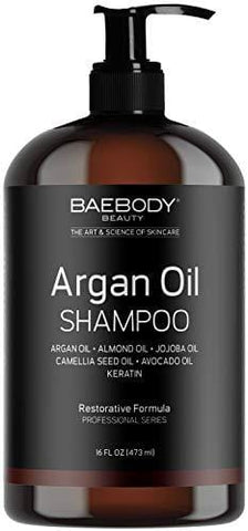 Baebody Moroccan Argan Oil Shampoo (473ml) - Beautyshop.ie