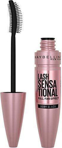 Maybelline New York, Volume Mascara, Lash Sensational, Boja: Vrlo crna, 9.5 ml - Beautyshop.hr