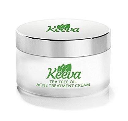 Keeva Organics Acne Treatment Cream With Secret TEA TREE OIL Formula