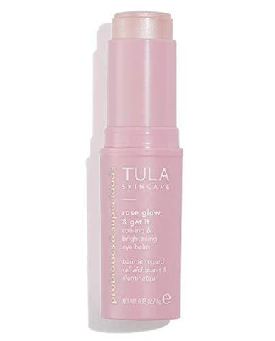 TULA Probiotisk hudvård Rose Glow & Get It Cooling & Brightening Eye Balm - 10g