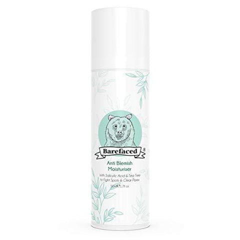 BeBarefaced Anti Blemish Moisturiser With Tea Tree Oil & Salicylic Acid - Beautyshop.ie