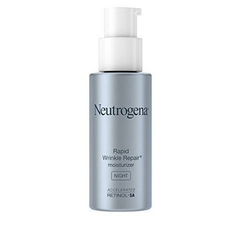 Neutrogena Rapid Wrinkle Repair Anti-Wrinkle Night Accelerated Retinol SA Facial Moisturizer - Beautyshop.dk