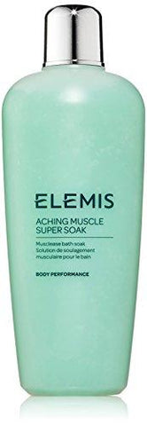 Elemis Aching Muscle Super Soak, bain de masse Musclease, 400 ml - Beautyshop.fr