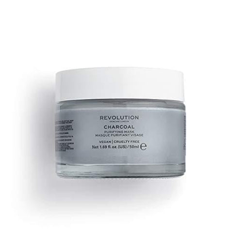 Revolution Skincare Charcoal Purifying Face Mask - 50ml - Beautyshop.cz