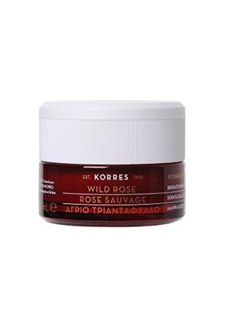 KORRES Natural Wild Rose Vitamin C Spací pleťový krém 40ml - Beautyshop.cz