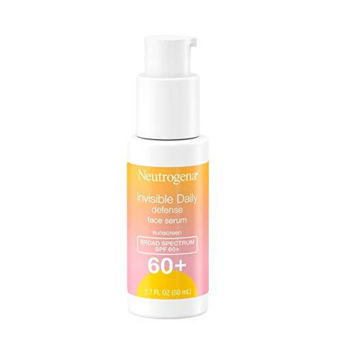 Neutrogena Invisible Daily Defense Face Serum with Broad Spectrum SPF 60+ - 50ml