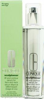 Clinique Sculptwear Lift And Contour Serum For Face And Neck 100ml - Beautyshop.ie