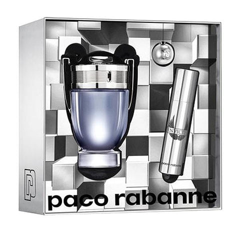Paco Rabanne Invictus Men for Gift Gift (2 pieza) EDT 50ml + EDT 10ml - Beautyshop.ie