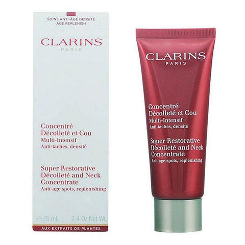 Clarins Super Restorative Décolleté & Neck Concentrate Feuchtigkeitscreme, 75 ml - Beautyshop.ie