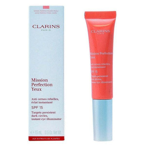 Clarins Mission Perfection acu plašais spektrs SPF 15 - Beautyshop.lv
