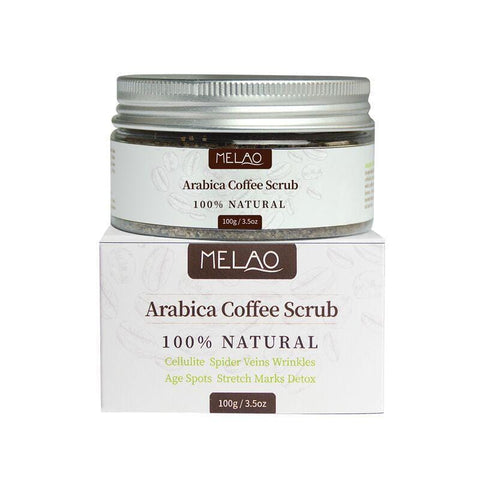 Melao Natural Arabica Coffee Scrub 100g - Beautyshop.fr