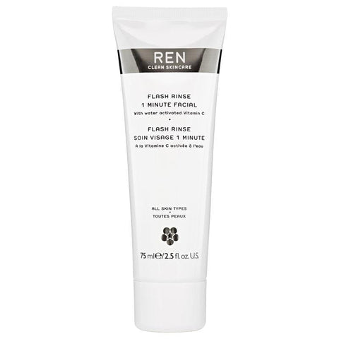 Ren Flash Rinse 1 Minute Gesichtsbehandlung 75ml - Beautyshop.ie