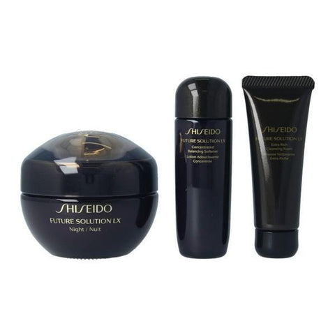 Women's Cosmetics Set Future Solution Lx Night Shiseido (3 uds)