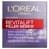 L'Oreal Revitalift Filler Renew Anti-Aging-Creme 50ml - Beautyshop.ie