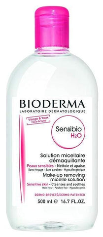 Bioderma Sensibio H2O Micellar Water 500ml - Beautyshop.ie