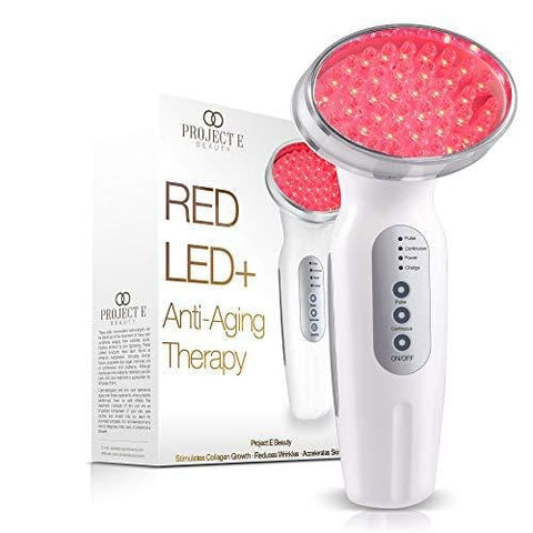 Project E Beauty RED LED + Anti-Aging Skin Tightening Therapy - Beautyshop.se