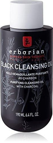 Erborian Black Cleansing Oil with Purifying Charcoal 190 ml - Beautyshop.ie