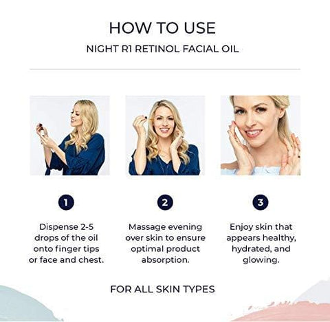 Retinol & Jojoba Face Oil By Alana Mitchell (15ml) - Beautyshop.ie