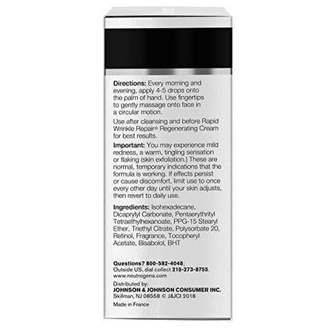 Neutrogena Rapid Wrinkle Repair Retinol Oil with Concentrated Retinol (30ml) - Beautyshop.ie