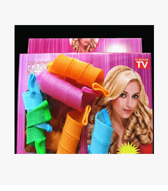 Magic Sleep Style Hair Rollers (18 Pieces)