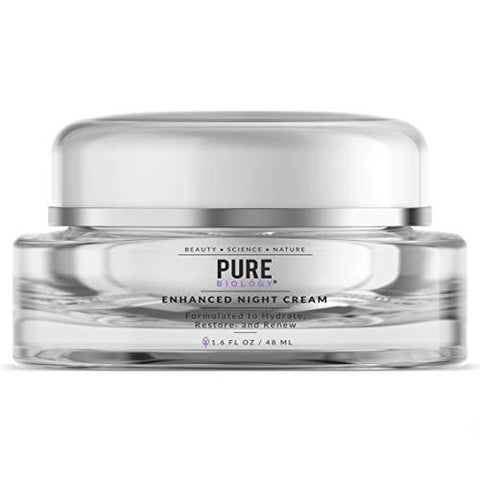 Pure Premium Night Cream Face Moisturiser with Retinol