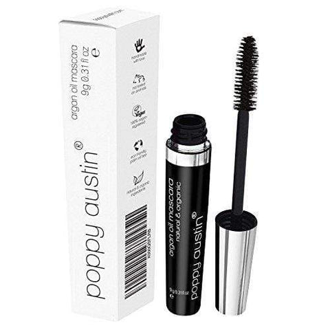 Poppy Austin Vegan & Organic Lengthening Mascara Black With Argan Oil - Beautyshop.ie