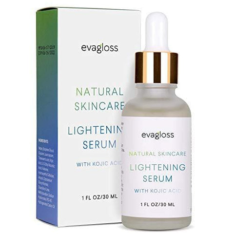 Evagloss Skin Lightening Serum z kwasem kojowym - 30ml - Beautyshop.ie