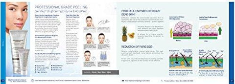 SkinPep Brightening Enzyme & Acid Peel - Beautyshop.lv