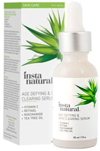 InstaNatural Sérum Dégraissant Vitamine C - 30 ml - Beautyshop.fr