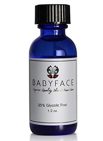Babyface Professional 35% Glycolic Acid Chemical Peel, Unbuffered, Low pH - 30ml - Beautyshop.ie