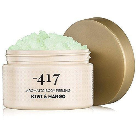 417 Dead Sea Cosmetics Kiwi & Mango Aromatic Scrub - Tout naturel 15.8 oz - Beautyshop.ie