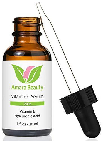 Sérum pour le visage à la vitamine C Amara Beauty 20% (30ml) - Beautyshop.fr