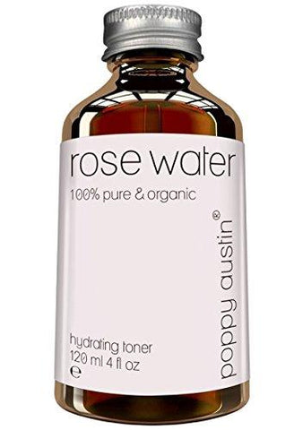 Pure Rose Water Toner facial de Poppy Austin - Beautyshop.ie