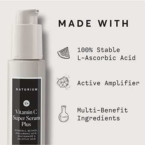 Naturium Vitamin C Super Serum Plus - 30ml - Beautyshop.lt