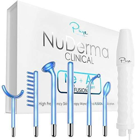NuDerma Clinical Professional Skin Therapy Wand - Beautyshop.ie