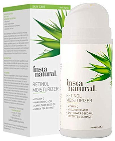 InstaNatural Retinol Moisturiser Anti Ageing Cream (100ml) - Beautyshop.ie