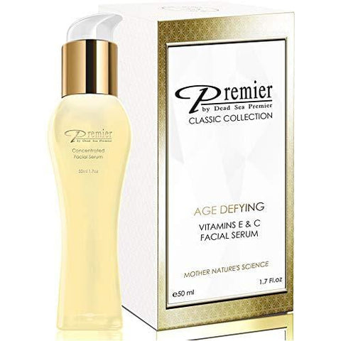 Premier Dead Sea Vitamin E & C facial serum - 50ml - Beautyshop.ie