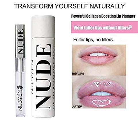 Nubyén Nude Lip Augmentation Plinking Gloss