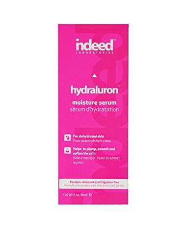 Indeed Labs Hydraluron Moisture Boosting Facial Serum, 30 ml - Beautyshop.fr