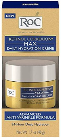 RoC Retinol Correxion Max Daily Hydration Anti-Aging Crème (48g) - Beautyshop.ie