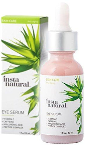 InstaNatural Eye Serum For Dark Circles & Puffiness (30ml) - Beautyshop.ie