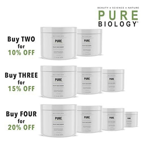 Pure Biology Premium Clay Face Mask
