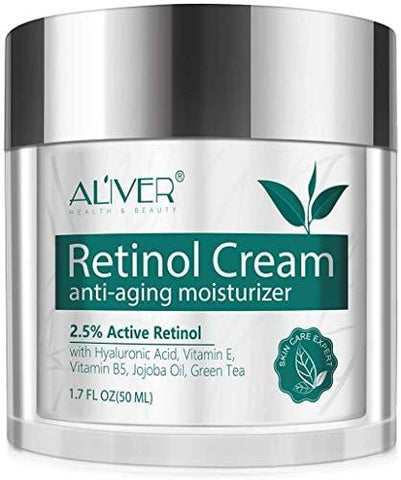Retinol Cream anti-aging moisturiser with 2.5% Active Retinol - 50ml
