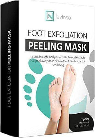 Exfoliating Foot Mask 2 Pack, Peeling Away Calluses and Dead Skin