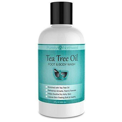Antifungal Tea Tree Oil Body Wash (266ml) - Beautyshop.dk