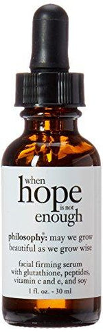 Philosophy When Hope is not Enough Facial Firming Serum Big (120ml)