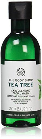 The Body Shop Nettoyant pour le visage Tea Tree 250 ml - Beautyshop.fr