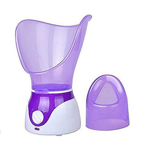 Professional Steam Inhaler for Face With Aroma Diffuser (purple)