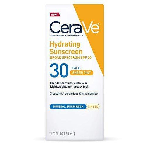 CeraVe Tinted Sunscreen with SPF 30-50ml